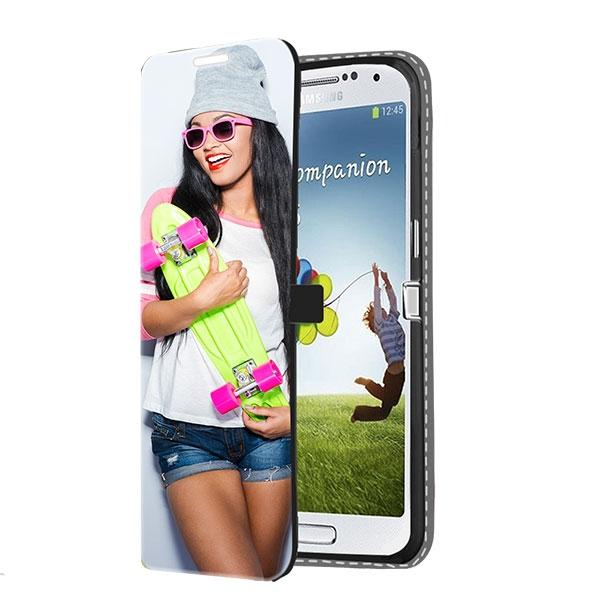 Abbildung von Samsung Galaxy S4 Wallet Case Selbst Gestalten (Vorne Bedruckt)