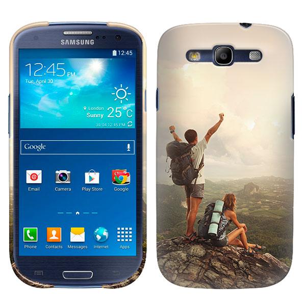 coque Samsung Galaxy S3 personnalisée impression sur la tranche