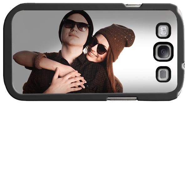 Coque personnalisée en silicone pour Samsung Galaxy S3 noire, blanche ou transparente