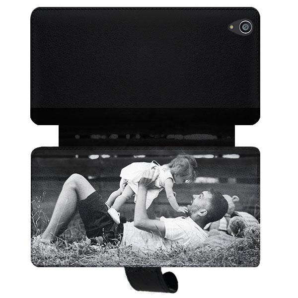 funda personalizada billetera Xperia Z3+