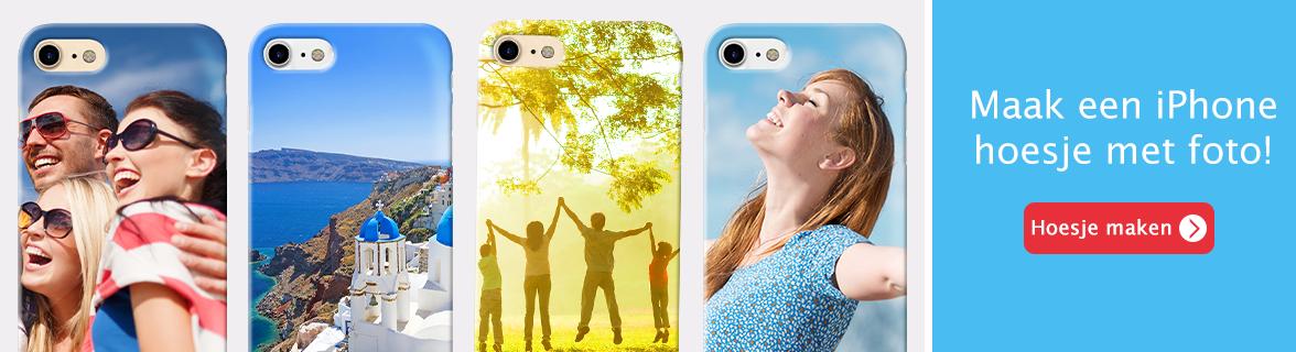 Maak je eigen iphone hoesje!