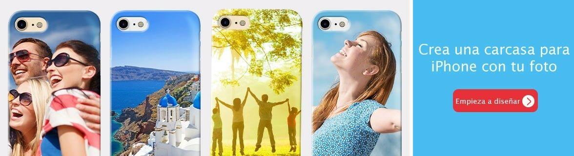 Crea tu carcasa personalizada iphone
