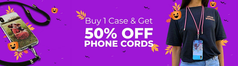 Halloween promo Personalised cases