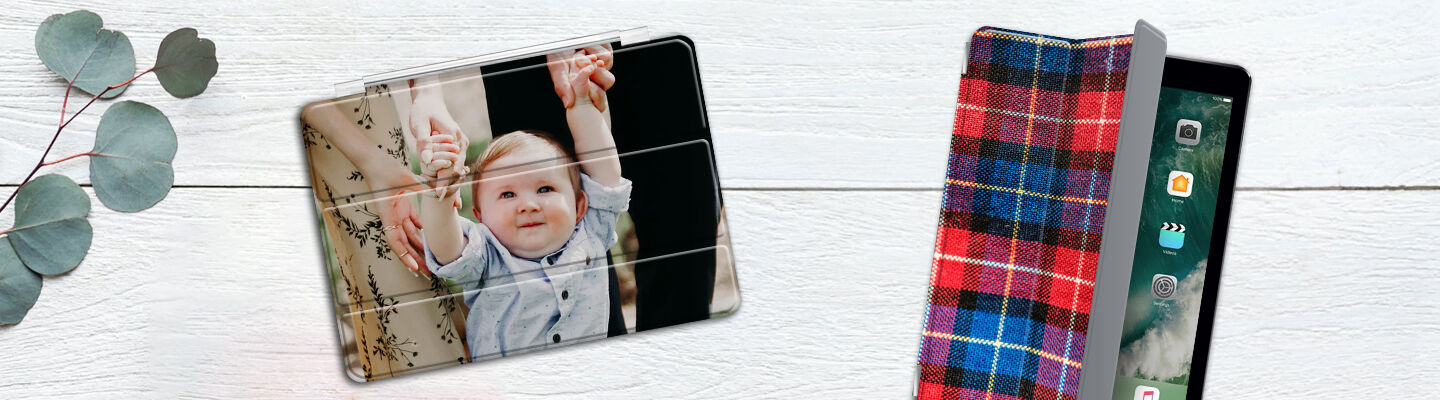 Personalised iPad 2 case