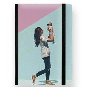 mothers day gifts - custom notebook